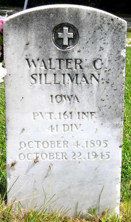 SILLIMAN, WALTER CHARLES - Madison County, Iowa   WALTER CHARLES SILLIMAN
