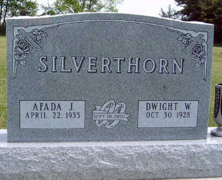 MCKEE SILVERTHORN, AFADA J. - Madison County, Iowa | AFADA J. MCKEE SILVERTHORN