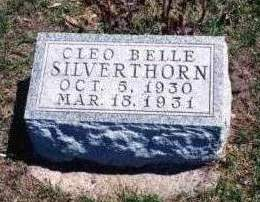 SILVERTHORN, CLEO BELLE - Madison County, Iowa | CLEO BELLE SILVERTHORN