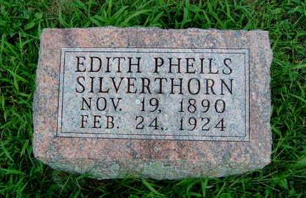 SILVERTHORN, SADIE EDITH - Madison County, Iowa | SADIE EDITH SILVERTHORN