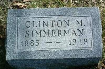 SIMMERMAN, CLINTON M. - Madison County, Iowa | CLINTON M. SIMMERMAN