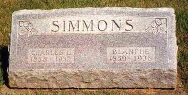 FRAZIER SIMMONS, BLANCHE - Madison County, Iowa | BLANCHE FRAZIER SIMMONS