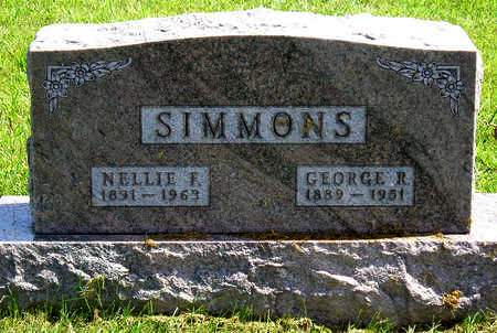EMERSON SIMMONS, NELLIE FRANCES - Madison County, Iowa | NELLIE FRANCES EMERSON SIMMONS