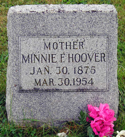 SIMMONS HOOVER, MINNIE FLORENCE - Madison County, Iowa | MINNIE FLORENCE SIMMONS HOOVER