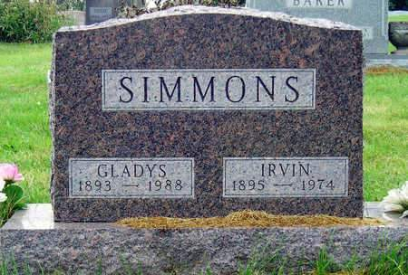 SIMMONS, ELSIE GLADYS - Madison County, Iowa | ELSIE GLADYS SIMMONS