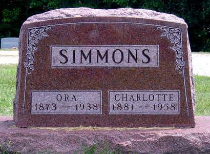 SIMMONS, CHARLOTTE E. - Madison County, Iowa | CHARLOTTE E. SIMMONS