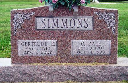 SIMMONS, GERTRUDE ELLEN - Madison County, Iowa | GERTRUDE ELLEN SIMMONS