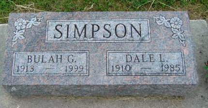 SIMPSON, BULAH GLADYS - Madison County, Iowa | BULAH GLADYS SIMPSON