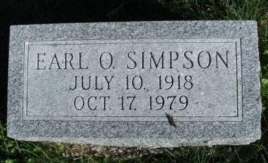 SIMPSON, EARL OMER - Madison County, Iowa | EARL OMER SIMPSON