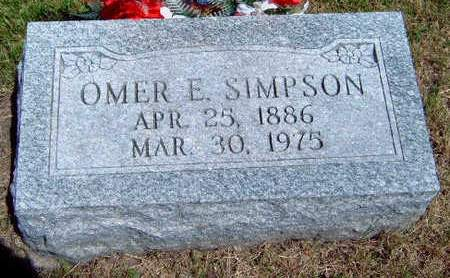 SIMPSON, OMER EARL - Madison County, Iowa | OMER EARL SIMPSON