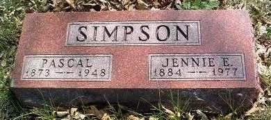READ SIMPSON, JENNIE E. - Madison County, Iowa | JENNIE E. READ SIMPSON