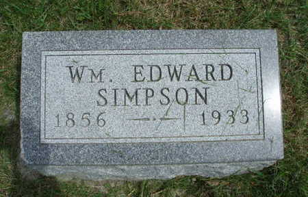 SIMPSON, WILLIAM EDWARD - Madison County, Iowa | WILLIAM EDWARD SIMPSON