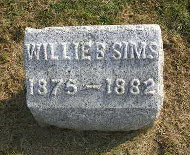SIMS, WILLIE B. - Madison County, Iowa | WILLIE B. SIMS