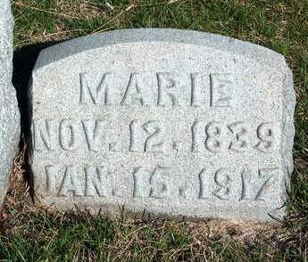 WRIGHT SINDLINGER, MARIE - Madison County, Iowa | MARIE WRIGHT SINDLINGER