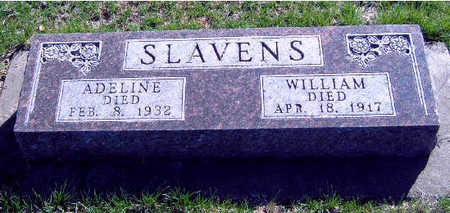 SLAVENS, WILLIAM - Madison County, Iowa | WILLIAM SLAVENS