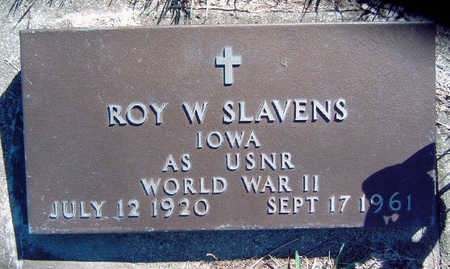 SLAVENS, ROY WYMAN - Madison County, Iowa | ROY WYMAN SLAVENS