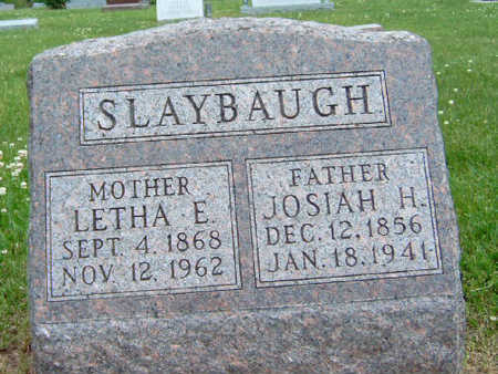 SLAYBAUGH, LETHA ELEANOR - Madison County, Iowa | LETHA ELEANOR SLAYBAUGH