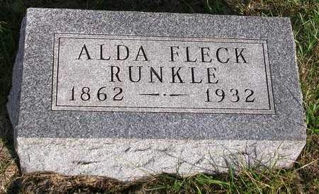 RUNKLE, ALDA I. - Madison County, Iowa | ALDA I. RUNKLE
