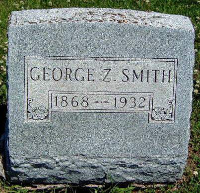 SMITH, GEORGE Z. - Madison County, Iowa | GEORGE Z. SMITH