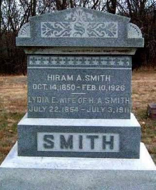 SMITH, HYAMPSUAL A. (HIRAM) - Madison County, Iowa | HYAMPSUAL A. (HIRAM) SMITH