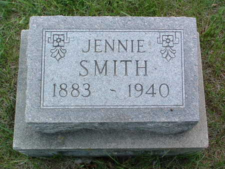 SMITH, JENNIE - Madison County, Iowa | JENNIE SMITH