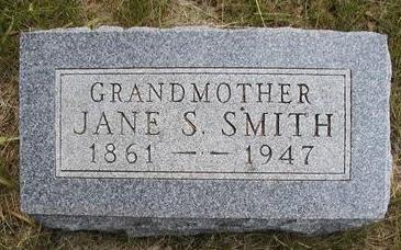SMITH, SOPHRONIA JANE - Madison County, Iowa | SOPHRONIA JANE SMITH