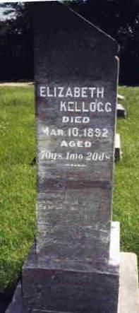 SMITH KELLOGG, ELIZABETH - Madison County, Iowa | ELIZABETH SMITH KELLOGG