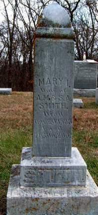 SMITH, MARY I. - Madison County, Iowa | MARY I. SMITH