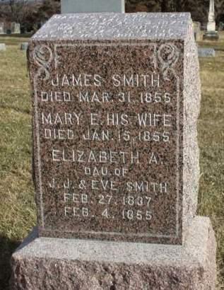 JOB SMITH, MARY ELIZABETH - Madison County, Iowa | MARY ELIZABETH JOB SMITH