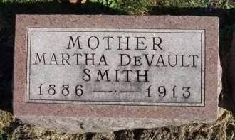 DEVAULT SMITH, MARTHA MINERVA - Madison County, Iowa | MARTHA MINERVA DEVAULT SMITH