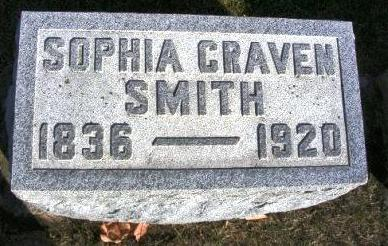 CRAVEN SMITH, SOPHIA VIRGINIA - Madison County, Iowa | SOPHIA VIRGINIA CRAVEN SMITH
