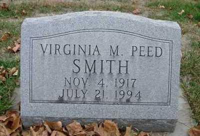 PEED SMITH, VIRGINIA M. - Madison County, Iowa | VIRGINIA M. PEED SMITH