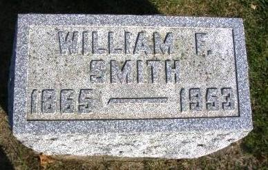 SMITH, WILLIAM F. - Madison County, Iowa | WILLIAM F. SMITH