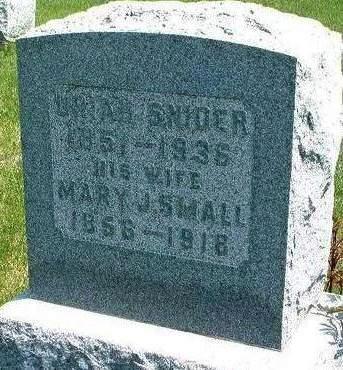 SNIDER, URIAH - Madison County, Iowa | URIAH SNIDER