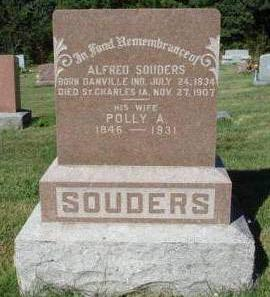 SOUDERS, POLLY ADELINE - Madison County, Iowa | POLLY ADELINE SOUDERS