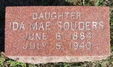 SOUDERS, IDA MAE - Madison County, Iowa | IDA MAE SOUDERS