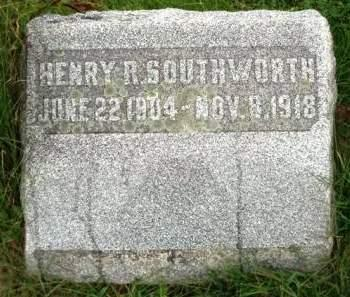 SOUTHWORTH, HENRY ROWE - Madison County, Iowa | HENRY ROWE SOUTHWORTH