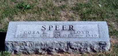 SPEER, CORA L. - Madison County, Iowa | CORA L. SPEER