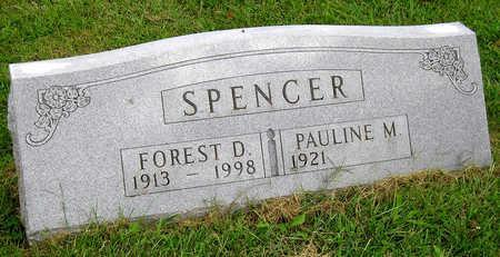 SPENCER, FOREST DAVID - Madison County, Iowa | FOREST DAVID SPENCER