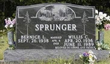 SPRUNGER, BERNICE L. - Madison County, Iowa | BERNICE L. SPRUNGER