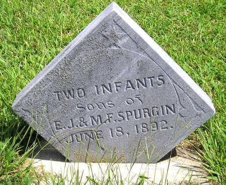SPURGIN, INFANT - Madison County, Iowa | INFANT SPURGIN