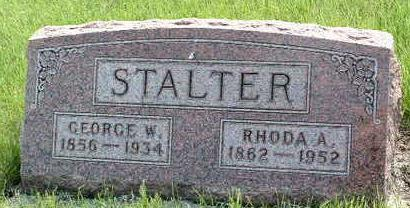 HUSTON STALTER, RHODA ANN - Madison County, Iowa | RHODA ANN HUSTON STALTER