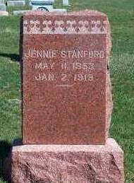 STANFORD, HANNAH JANE (JENNIE) - Madison County, Iowa | HANNAH JANE (JENNIE) STANFORD
