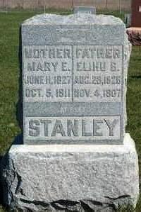 STANLEY, ELIHU B. - Madison County, Iowa | ELIHU B. STANLEY