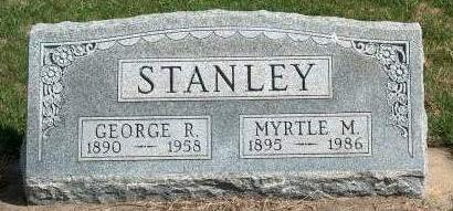 STANLEY, MYRTLE MAY - Madison County, Iowa | MYRTLE MAY STANLEY