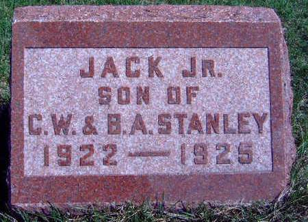 STANLEY, JACK JUNIOR - Madison County, Iowa | JACK JUNIOR STANLEY