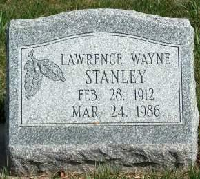 STANLEY, LAWRENCE WAYNE (BUD) - Madison County, Iowa | LAWRENCE WAYNE (BUD) STANLEY