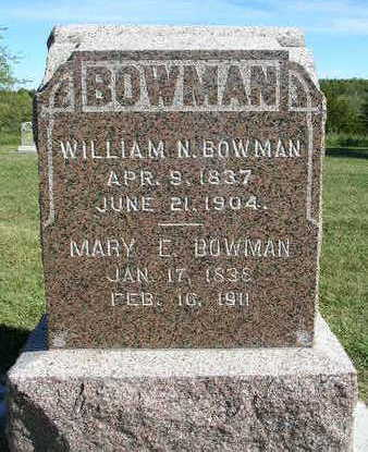 STANNARD BOWMAN, MARY EDNA / ELIZABETH - Madison County, Iowa | MARY EDNA / ELIZABETH STANNARD BOWMAN