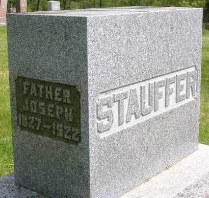 STAUFFER, JOSEPH - Madison County, Iowa | JOSEPH STAUFFER