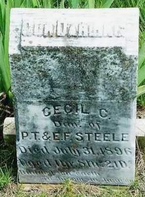 STEELE, CECIL CHARLOTTE - Madison County, Iowa | CECIL CHARLOTTE STEELE